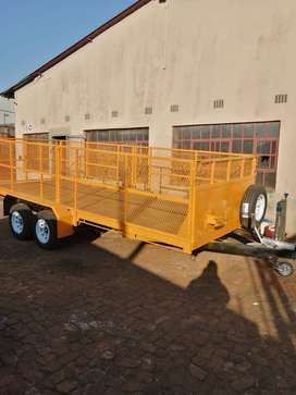Recycling trailers