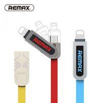 Зарядный кабель 2 в 1 Remax для IPhone и Android
