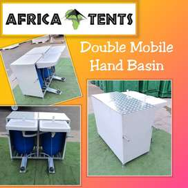 NEW PRODUCT - Double Mobile Hand Basin