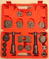 Zestaw do wymiany wyciskania klocków hamulcowych tłoczków 18 elementy