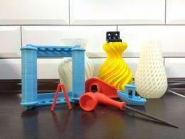 Печать на 3D принтере, макетирование, проектирование 3D моделей
