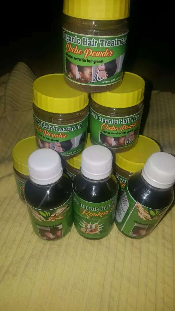 CHEBE POWDER AND KARKAR OIL 0