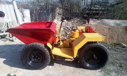 дампер, міні трактор dumper 12кс