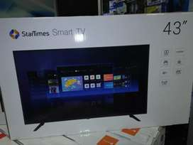 43inch 4K UHD Android smart TV's