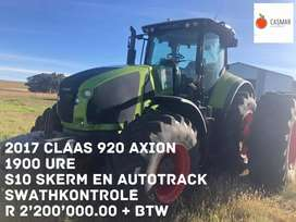2017 CLAAS 920 AXION