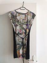 Sukienka letnia w kwiaty firmy F&F roz. S