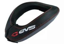 Evs R2 black neck brace and knee brace