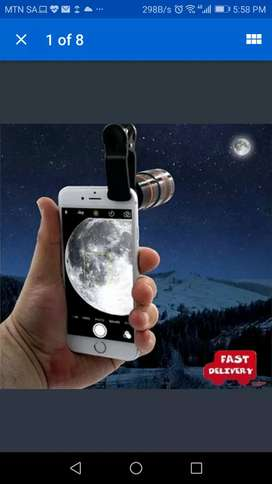 HD360 Zoom Telescope for your Phone &  HDFX360 High Performance Lense
