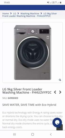 9 kg washing machine