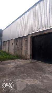 Warehouse with Separate compound at Ajao Estate Isolo. Church Etc 0
