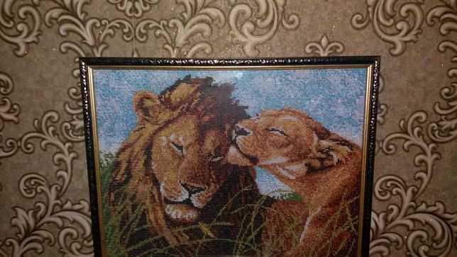 Катина из бисера ручная работа вышивка фото рамка на стену Кривой Рог - изображение 2
