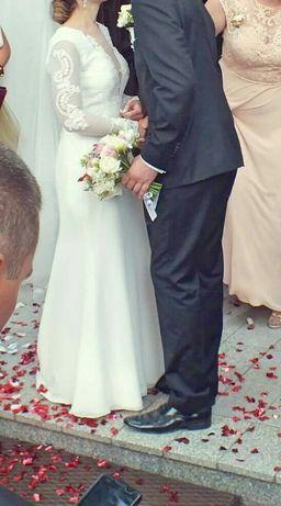 Suknia ślubna Vanilla Sposa , Antonia 1444 - długi rękaw Niepołomice - image 3