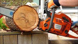 Спил деревьев. Попил дров. Обрезка сада. Расчистка участка!