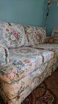 Sofa w stylu angielskim kwiaty
