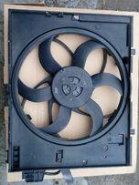 Вентилятор охлождения радиатора с корпусом БМВ Е60 Е61 2,0л-3,0л.