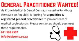 General Practitioner Wanted!