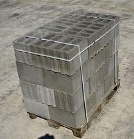 Pustaki ścienne betonowe 36x24x24cm