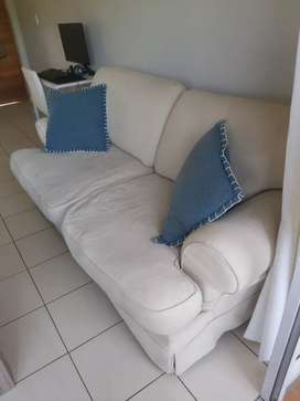 2 Seater Coricraft Slipcover Couch