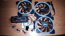 Система охлаждения для ПК кулеры для ПК AIGO Z6 с RGB подсветкой.
