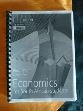 Economics Textbook for sale.