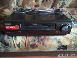 Видеомагнитофон sharp vc- ma221