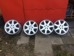 felgi aliuminiowe mercedes 8,5x17h2 et52 ładne