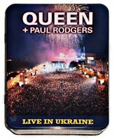 QUEEN Live In Ukraine 2CD+DVD+T.SHIRT Metal Box Folia