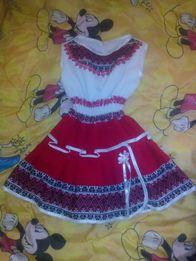Плаття в українському стилі, вишиваночка 2 года