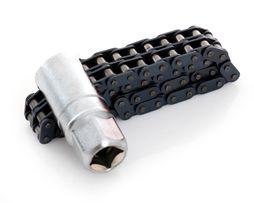 """#923 Klucz łańcuchowy podwójny 1/2"""" 21-120 mm do filtra oleju"""