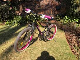 Girls 20inch bicycle