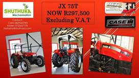 CASE JX 75T tractor