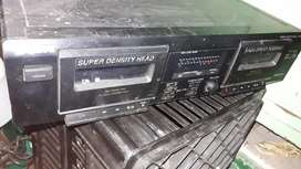 Sony double cassette player from stack up system