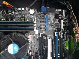i7 INTEL DESKTOP WITH GAMING BOARD GOOD COND R3500
