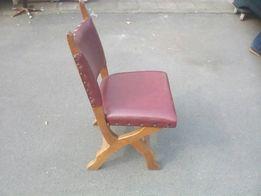 стулья дуб+кожа
