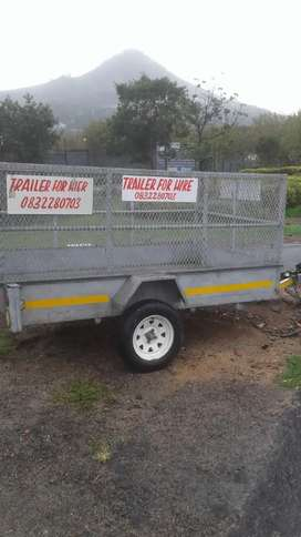 TRAILER FOR HIRE IN CAPE TOWN AREA