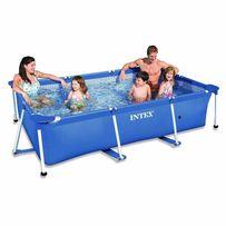 Каркасный прямоугольный бассейн басейн Intex (Интекс) 220х150х60 см