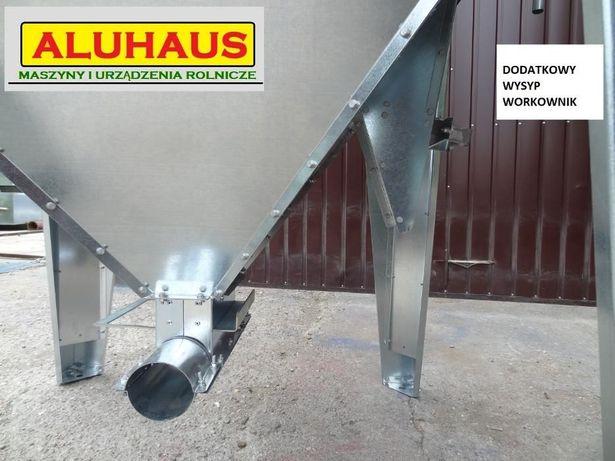 Zbiornik silos pojemnik do paszy zboża pelletu 2000 litrów ocynk Dakowy Suche - image 8