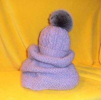 Вязаные шапки , снуды, шарфы на заказ!! любые вязаные изделия на заказ