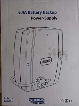 6.4amp 13.8-14.2V Output battery charger/power supply