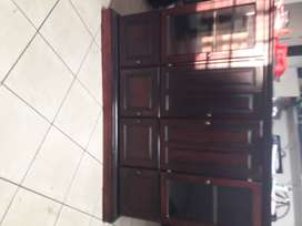 Matching Lounge Wall Unit, Coffee Table, 2 Side Tables and Wine Rack