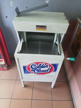 Bread slicer, used