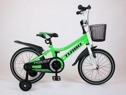 BMX 16 cali ROCKY rower Zielony dla chłopca POLSKI