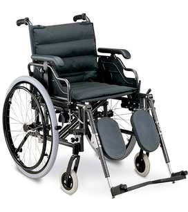Wheelchair - Deluxe - Elevating Legrest. On Sale, FREE DELIVERY