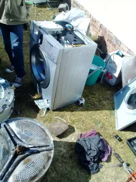 Washing machine repair and fridge regassing onsite
