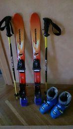 Горные лыжи Kneissl, палки Head, ботинки Atomic