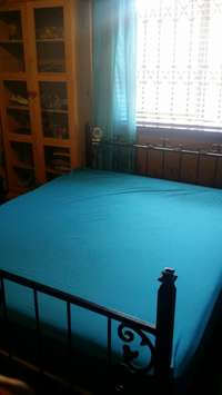 Image of Queen Size bed and Sealy matress