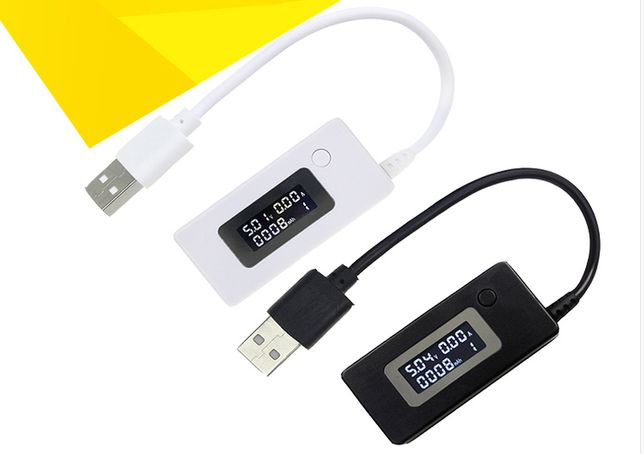 USB тестер KCX-017 (3В-15В) тестер напряжения/тока/емкости doctor char