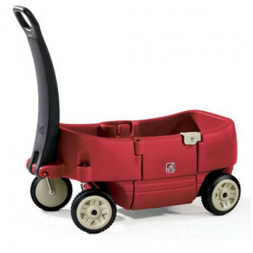 Step2 Wagon For Two Plus for toodlers and preschoolers 0