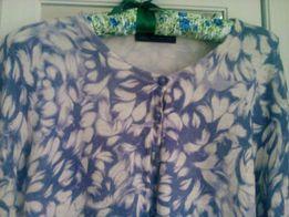 M&S uroczy sweterek w odcieniu lawendy r. 40 stan bdb