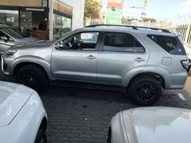 2015 Toyota Fortuner 3.0D 4D Automatic 66,000km R200,000